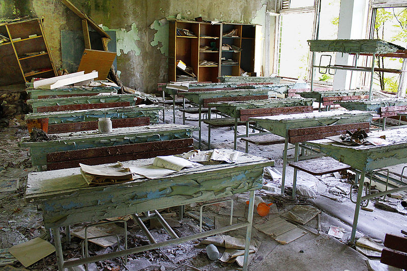 Pripyat_Abandoned_School